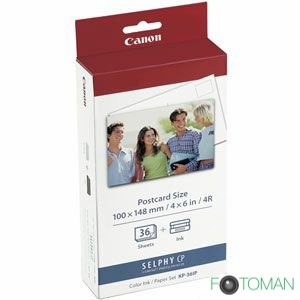 Canon Selphy KP-36 IP paperi + ribbon kit