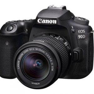 Canon Eos 90D + ef-s 18-55mm IS STM Kit
