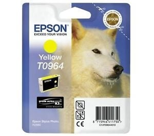 Epson ink cartridge yellow T 096 UltraChrome K 3 T 0964