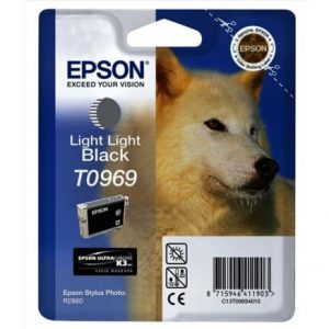 Epson ink cartridge light light black T 096 Ultrachr. K 3 T 0969