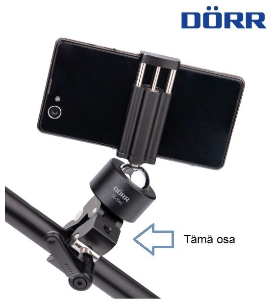 Dörr SC-5540 smart clamp, puristin