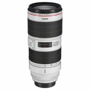 Canon EF 70-200mm f/2.8 L IS USM III objektiivi