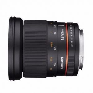 Samyang 20mm f1.8 ED AS UMC [DEMO], Canon