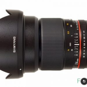 Samyang 24mm f1.4 full-frame, Canon