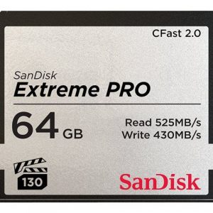 SANDISK Extreme Pro CFAST 2.0 64GB 525MB/s VPG130