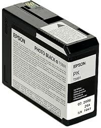 Epson väri T5801, photo black